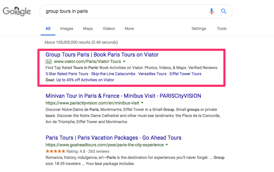 adwords-search-result-in-google