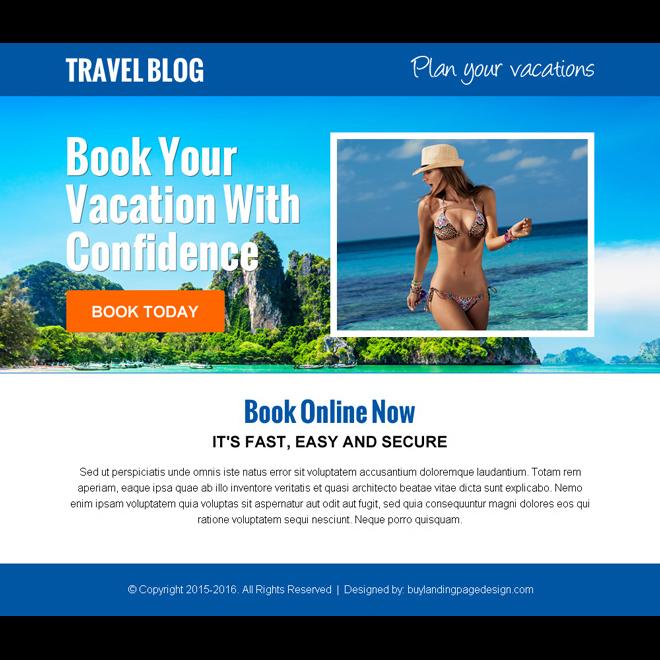 travel-landing-page